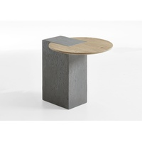 Naturstucke Middle Lamp Table w/ Concrete Base