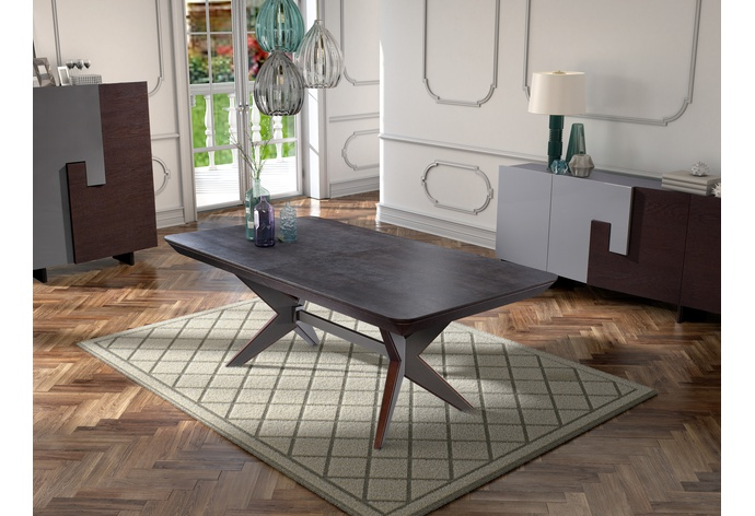 Assemblage Rectangular Extension Dining Table