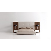 Essencial Upholstered Bed (High Headboard)