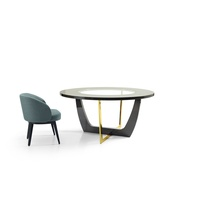 Arca Round Dining Table