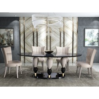 Imperador Oval Dining Table