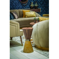 Riviera Pedestal End Table