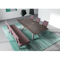 City Novik Rectangular Extension Dining Table